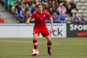 Rhian Wilkinson / Photo courtesy of Canada Soccer